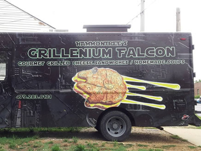 Grillenium Falcon