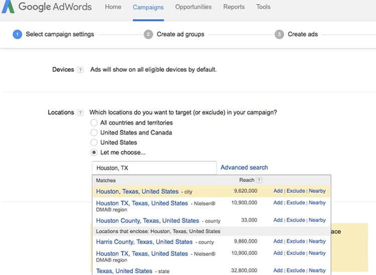 4 Tips for Local Businesses to Design More Effective Adwords Campaigns