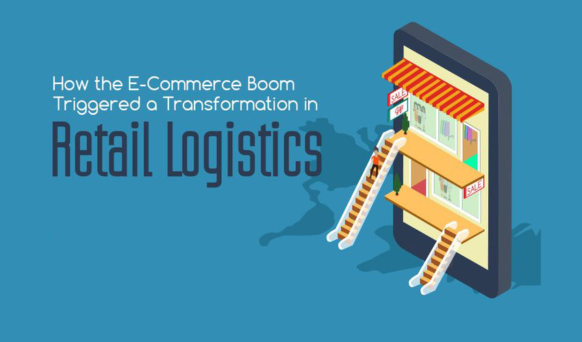 How the E-Commerce Boom Transformed Retail Logistics: An Infographic