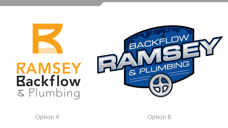Identity Design Case Study: Ramsey Backflow and Plumbing