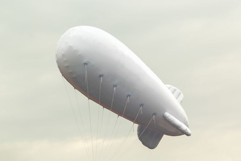 How Can Inflatable Blimps Increase Brand Visibility?