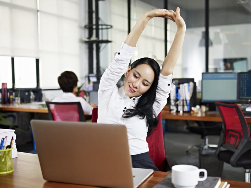 Staying Healthy When Your Work Keeps You at a Screen Most of the Day
