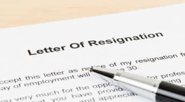 The Importance of Having a Backup When You Go to Resign