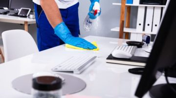 Office Safety After Coronavirus: What Office Managers Need To Do Consider With Cleaning, Door Safety and Social Distancing in 2020