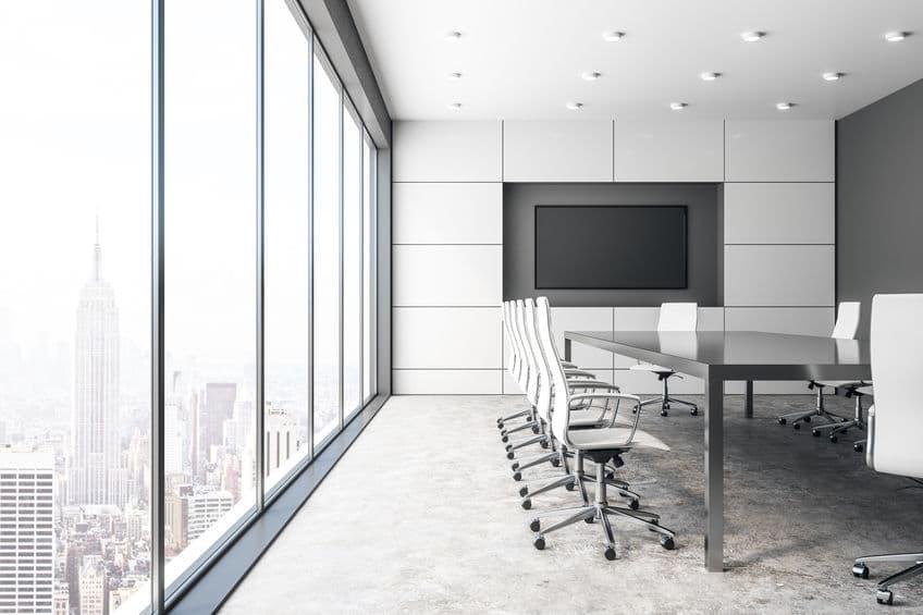 Business Projector Screens vs. TVs
