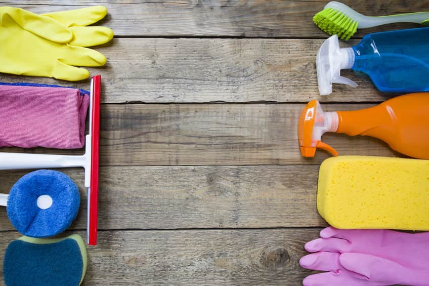Cleaning Supplies for a Yearly Deep Clean